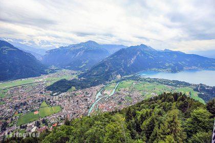 【瑞士 Interlaken】茵特拉肯小鎮一日遊遊記,韓劇《愛的迫降》景點盤點