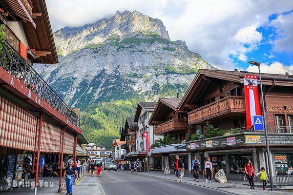 【格林德瓦】登少女峰前的絕美小鎮,Grindelwa