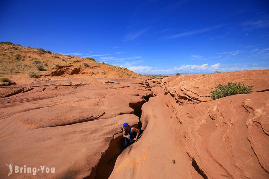 羚羊峽谷地貌
