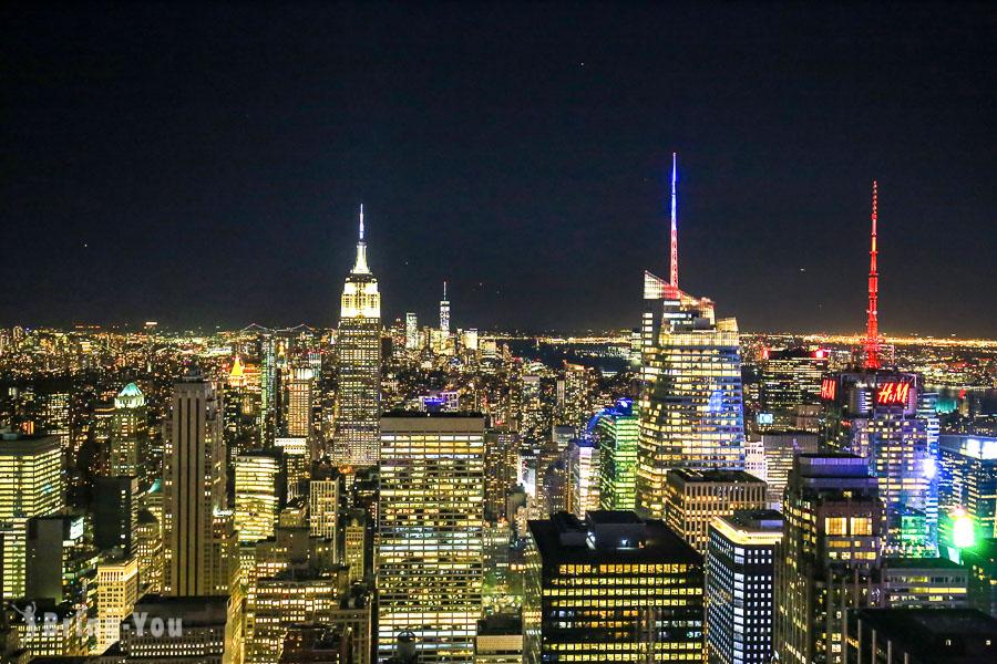 【紐約】洛克菲勒中心 Top of the Rock 觀景台浪漫夜景攻略