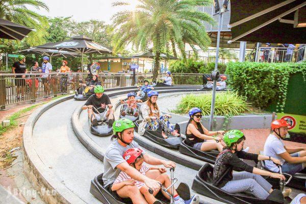 【新加坡斜坡滑車體驗】聖淘沙 Skyline Luge Sentosa 交通方式、購票優惠