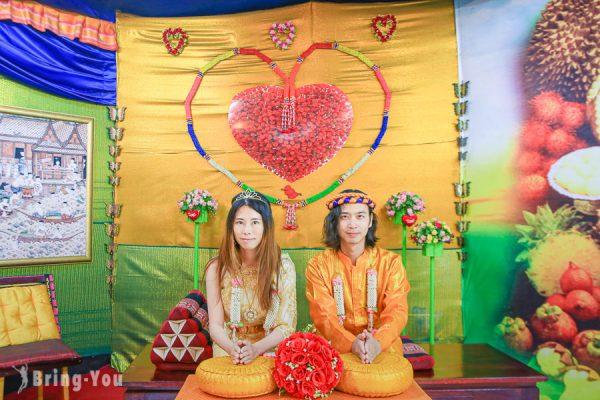 【泰國大城】水晶晶泰服租借體驗:穿上傳統服飾的樂趣