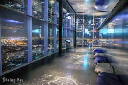 【曼谷高空酒吧夜景】Mahanakhon SkyWalk 觀景台:玻璃天空步道、門票、交通攻略