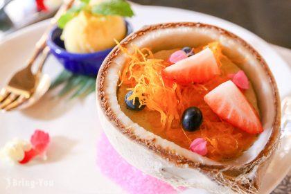 【曼谷美食】沙吞藍象餐廳 Blue Elephant:米其林一星宮廷料理(A套餐菜單)