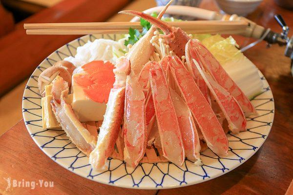 【新宿美食】蟹道樂 新宿本店:美味的各式螃蟹料理 - 螃蟹火鍋寶樂套餐