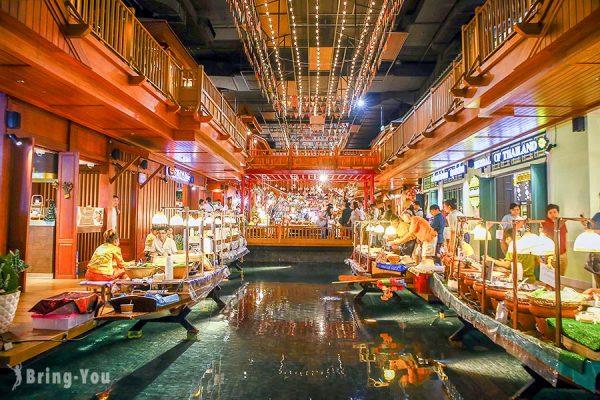 【曼谷新景點】Iconsiam 暹羅天地,超強室內水上市場購物商場,美食餐廳、水舞、交通全攻略
