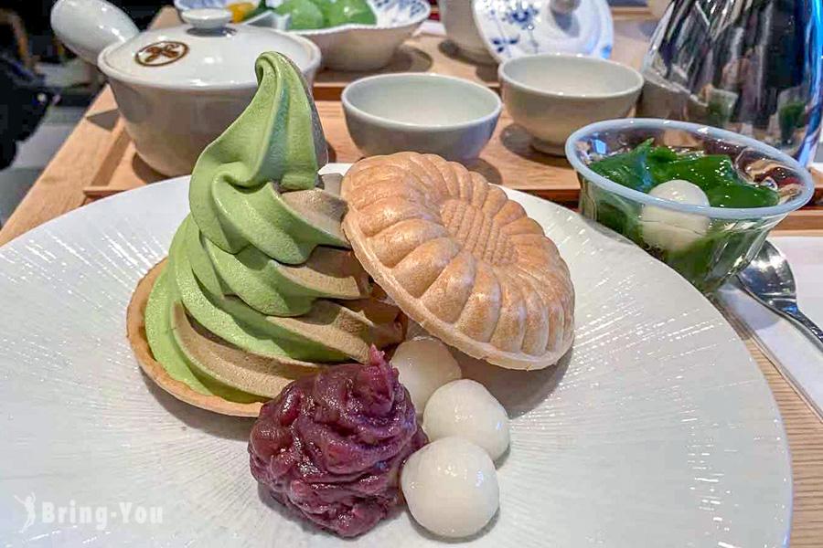 【銀座】GINZA SIX 時尚藝術購物商場品味「中村藤吉」抹茶甜點