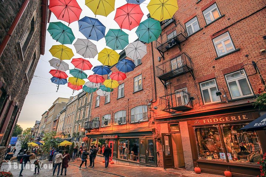 【加拿大魁北克Quebec】舊城區小香普蘭街景點、美食、住宿推薦