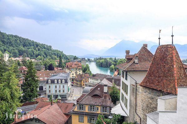 【瑞士湖邊小鎮Thun】圖恩一日遊景點:圖恩湖遊船、圖恩城堡