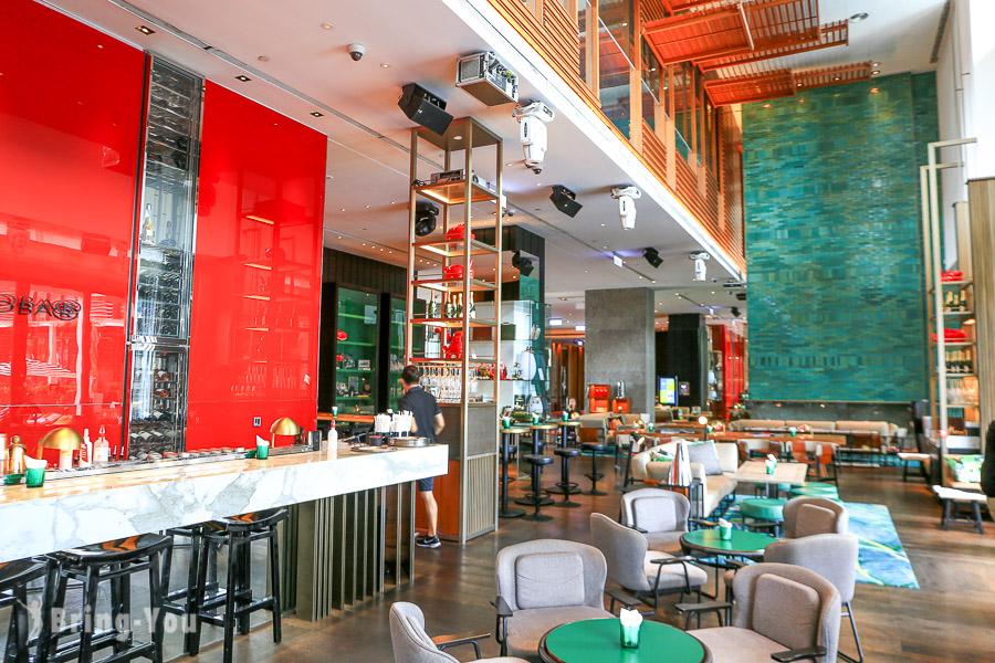 【台北酒吧】台北W飯店| Woobar:時尚、都會空間品味調酒配鴨肝滷肉飯