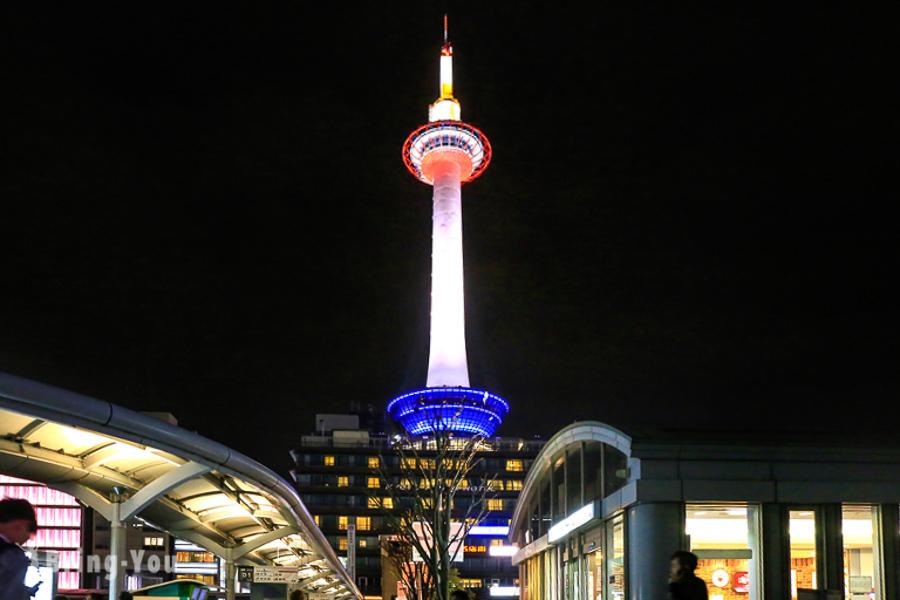 【京都車站】伴手禮購物商店街攻略、伊勢丹百貨大階梯燈光秀夜景景點大公開