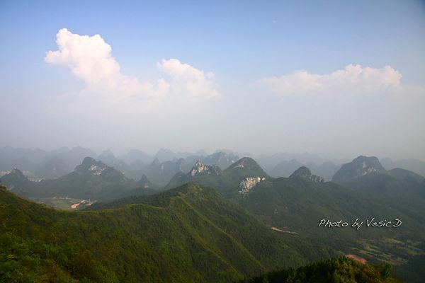 【桂林自由行】 最佳眺望桂林山水處 ☞ 堯山