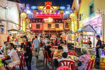 【馬六甲假日夜市】雞場街美食推薦:逛逛世界遺產一條街,享受南洋夜生活Jonker Street