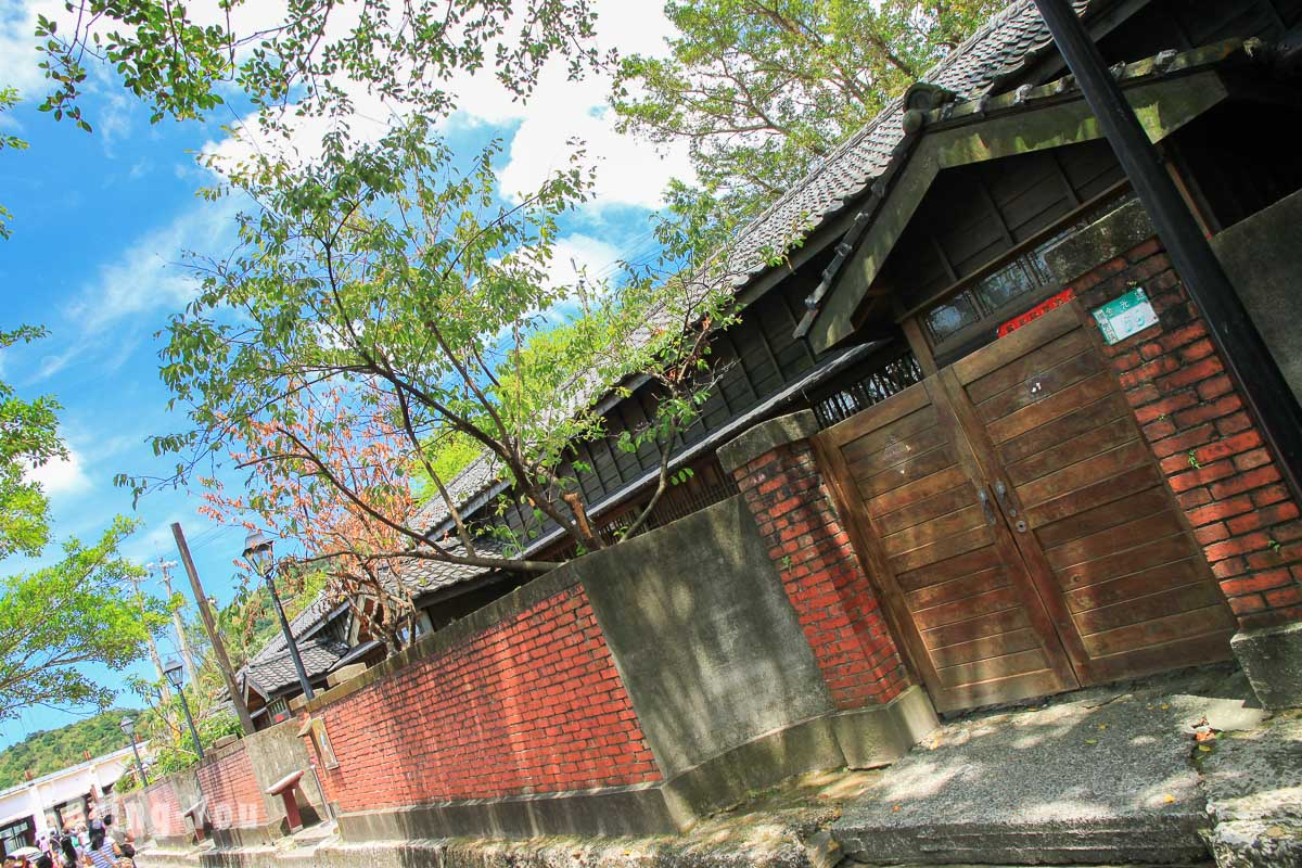 金瓜石景點四連棟日式宿舍