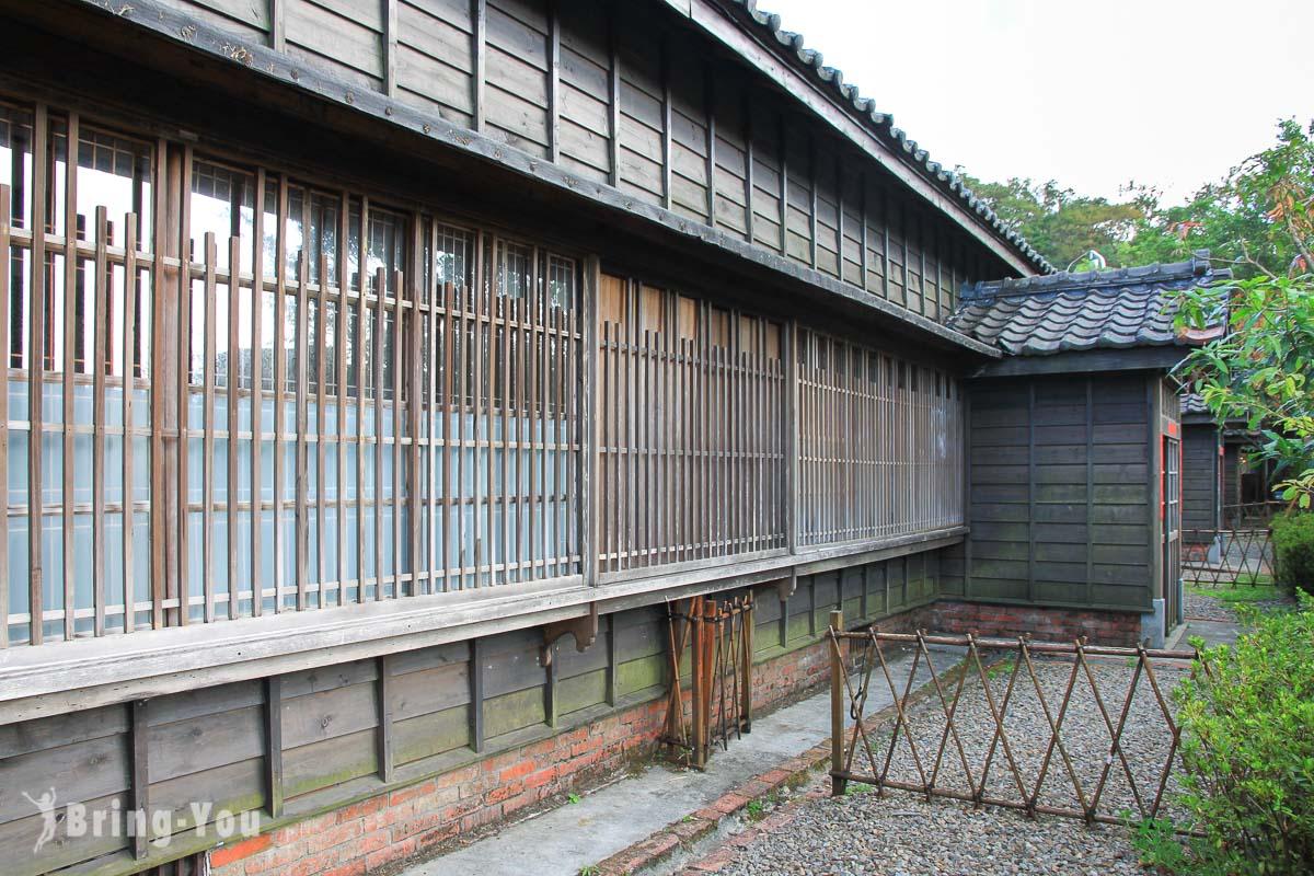 四連棟日式宿舍