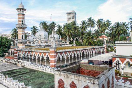 【吉隆坡景點】佳密清真寺、國家清真寺