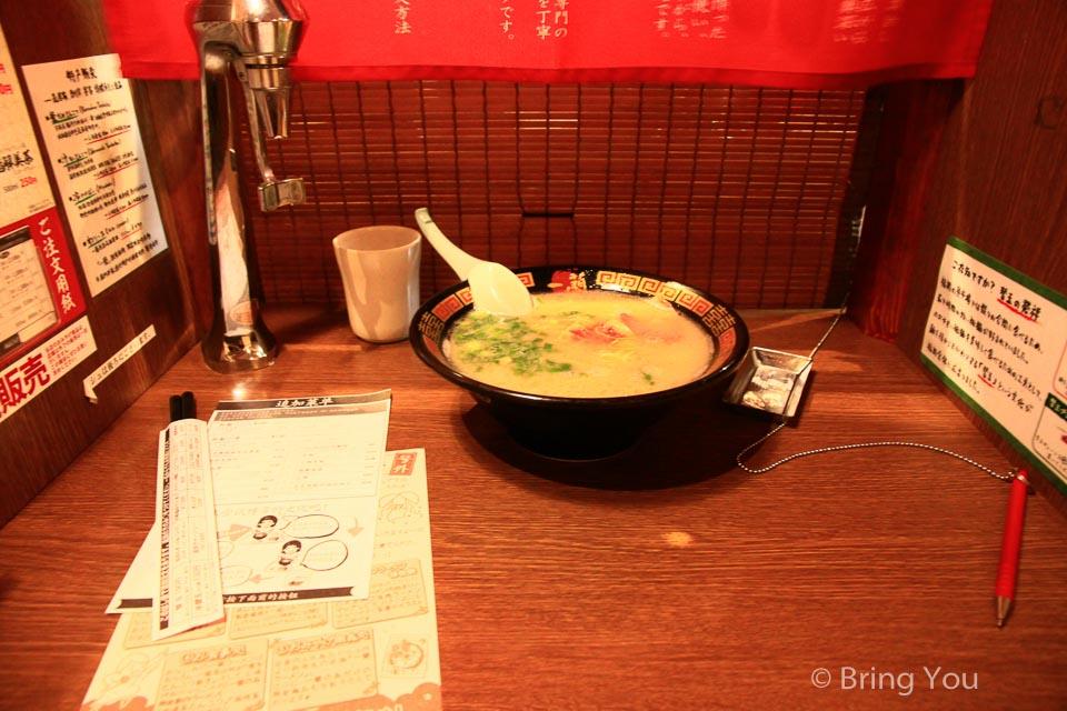 【六本木美食】好吃又難忘的一蘭拉麵,東京上班族下班後的小確幸