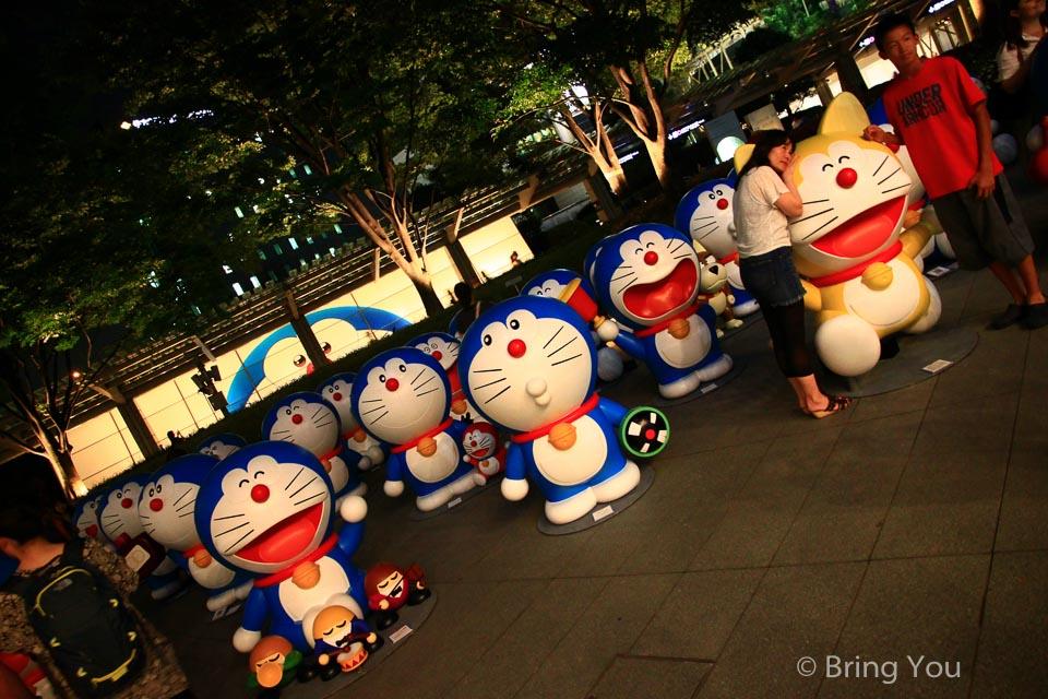 【六本木】朝日電視台 X 六本木之丘夏祭:與66隻哆啦A夢擁抱