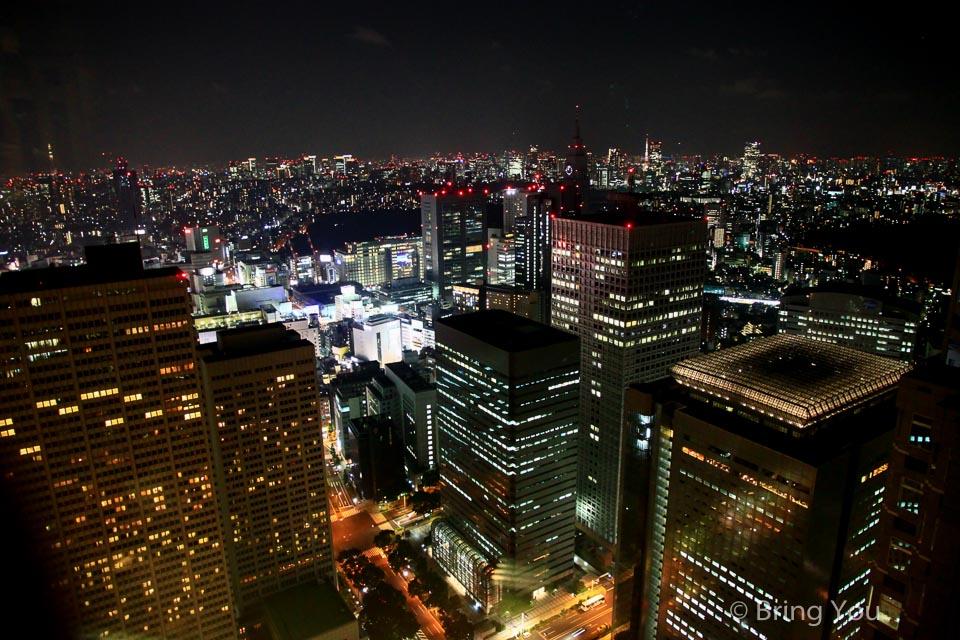 東京都廳夜景-5