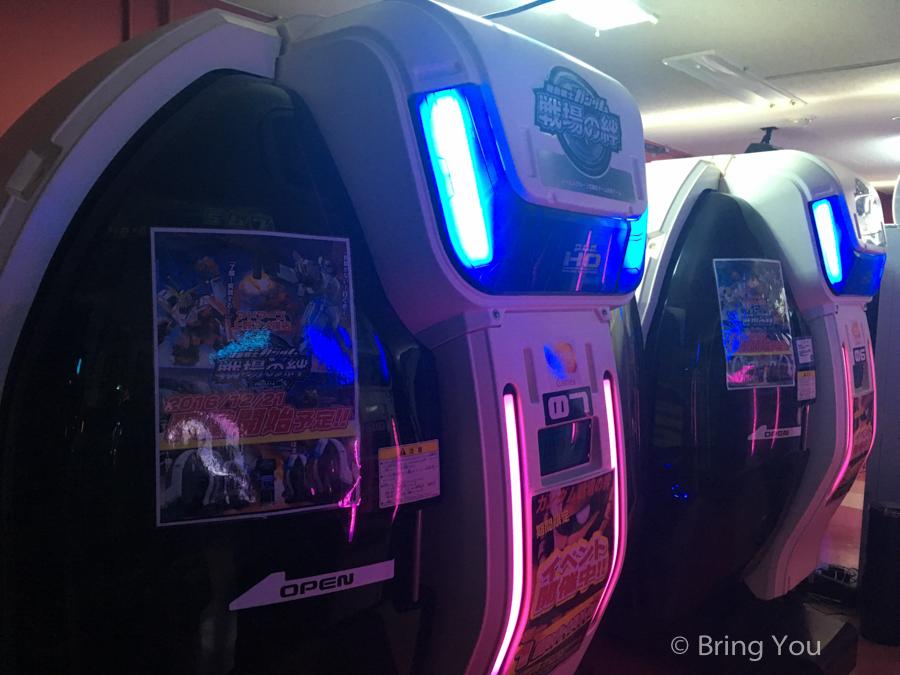 【東京觀察筆記】東京電玩遊樂場介紹,實玩「鋼彈大型電玩 – 戰場之絆」