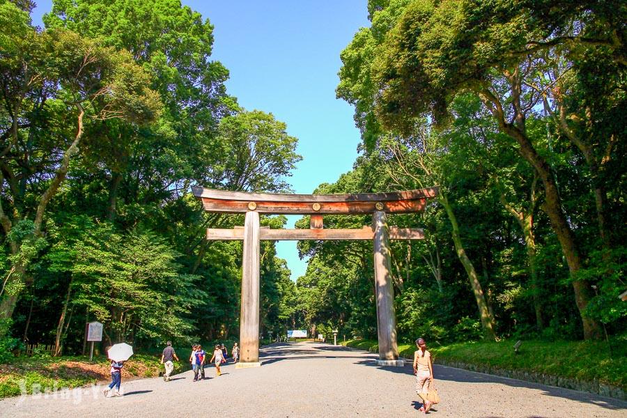 【原宿景點】明治神宮散策:散步在古參木道,野餐在一片大草原