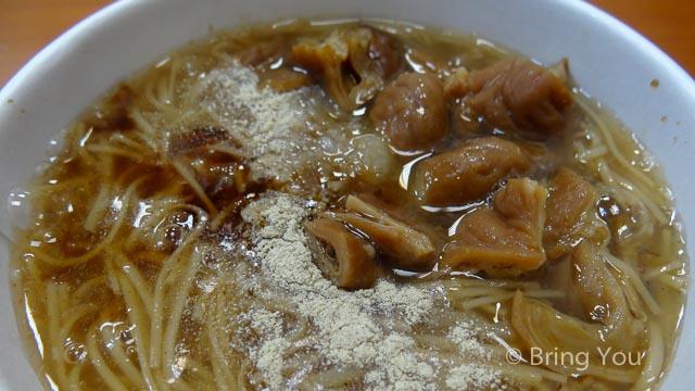 【高雄小吃】左營崇德路好吃的大腸蚵仔麵線 ☞ 鹿港王麵線羹