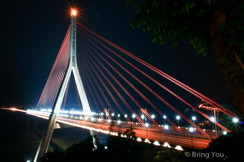 大樹夜景 斜張橋咖啡-2