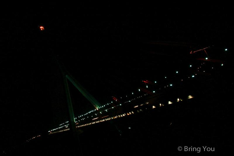 大樹夜景 斜張橋咖啡-3