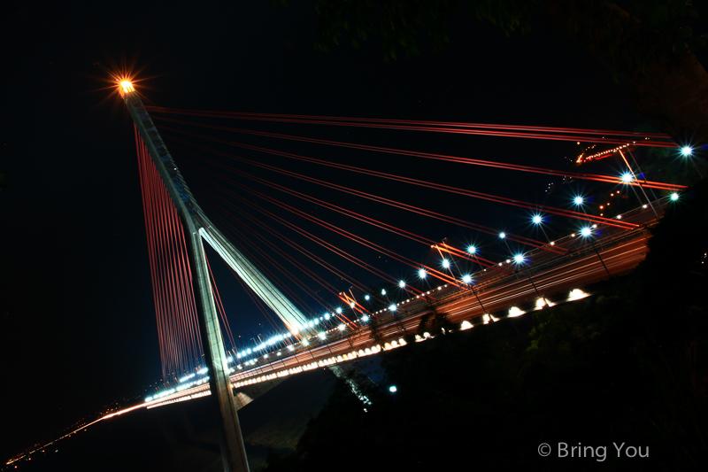 大樹夜景 斜張橋咖啡-4