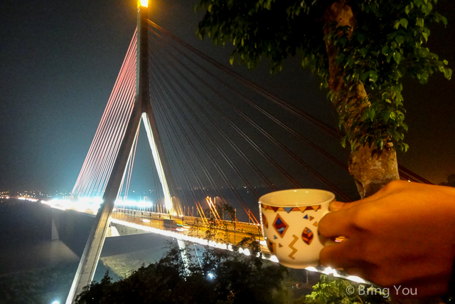 大樹夜景 斜張橋咖啡a-3
