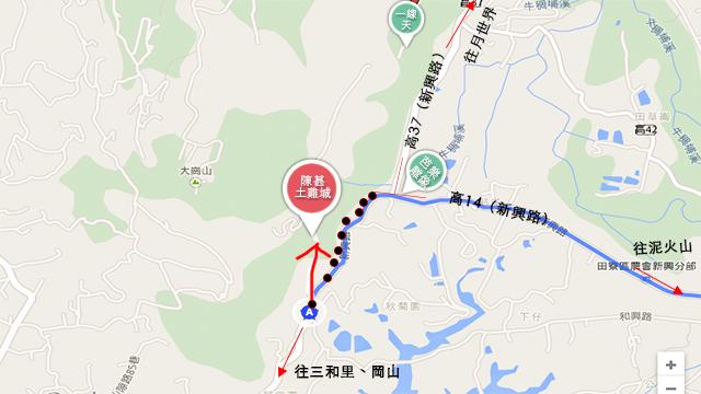 陳甚土雞城怎麼走地圖
