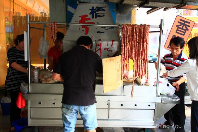 鳳山美食 橋邊香腸攤-5