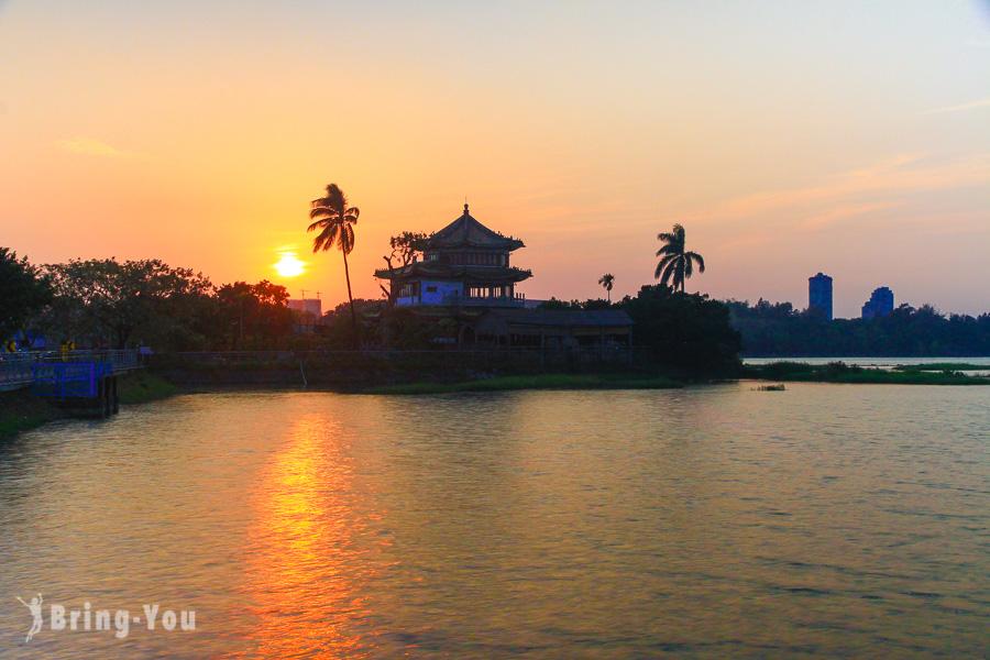 【高雄鳥松】澄清湖得月樓夕陽美景、海洋奇珍園:高雄週末好去處、攝影景點推薦