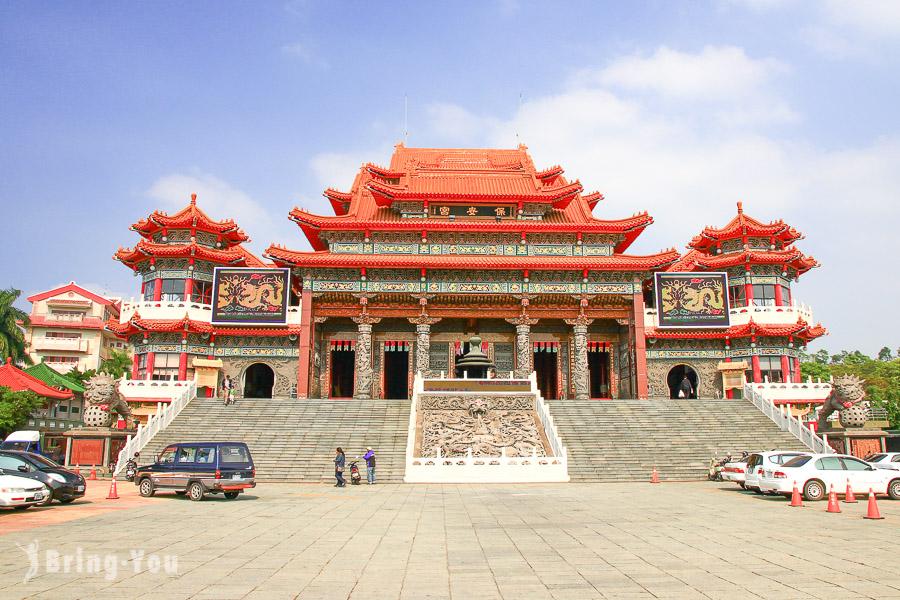 【高雄三民區】覆鼎金保安宮:金獅湖畔中國傳統藝術之最