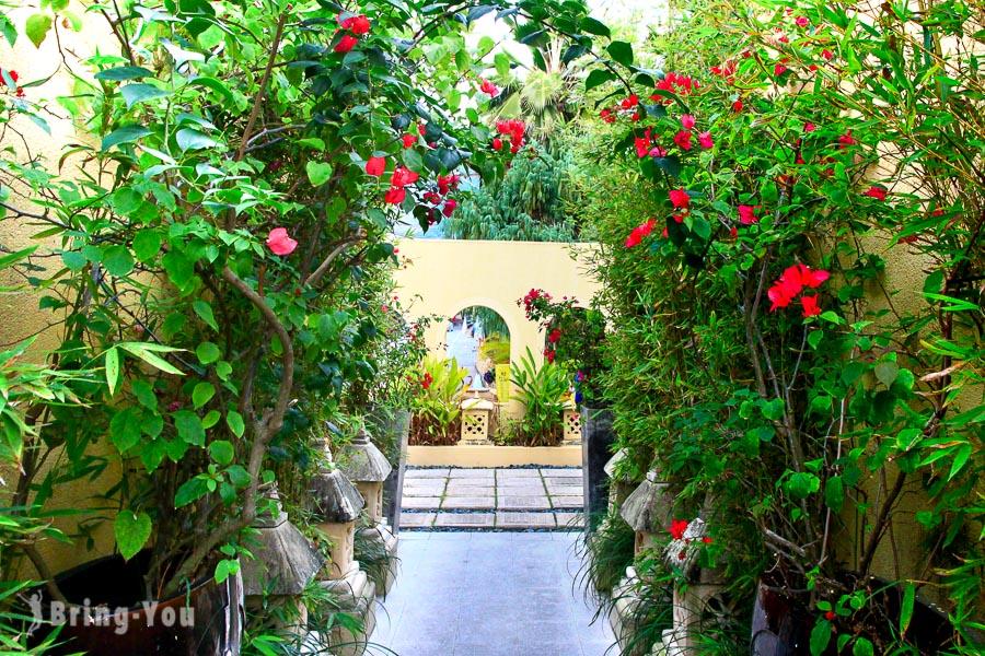 【高雄泡溫泉】寶來泡湯飯店:轉角26Villa,峇厘島風Villa