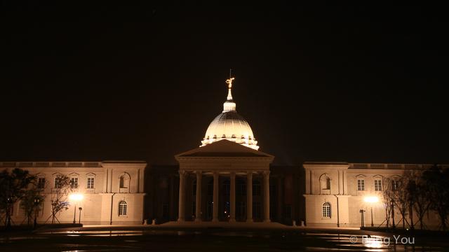 奇美博物館夜景-5