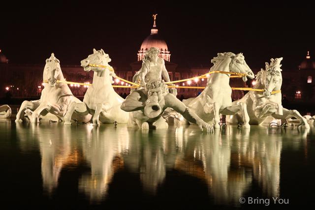 【台南奇美博物館】西洋藝術的寶庫,台南都會公園、夜景攝影