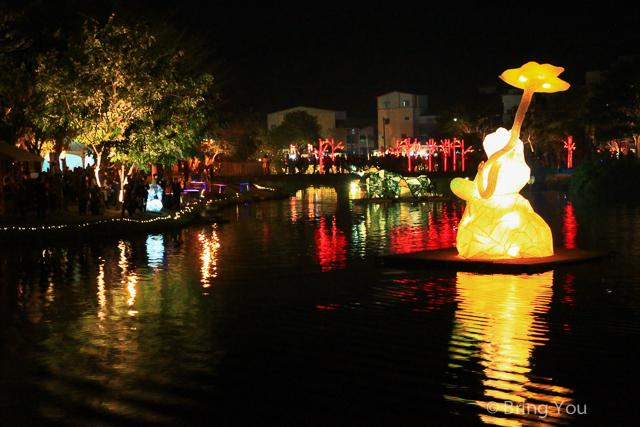 台南旅遊-月津港燈節-11