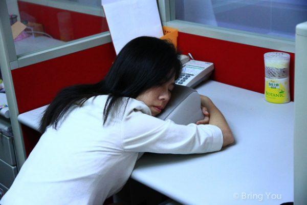 摺疊午睡枕a-2