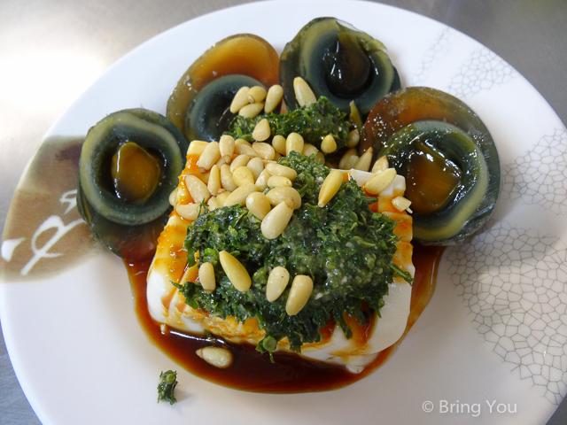 【高雄左營眷村美食】特色牛肉泡饃、香椿皮蛋豆腐、香椿涼麵 ☞ 豫湘料理