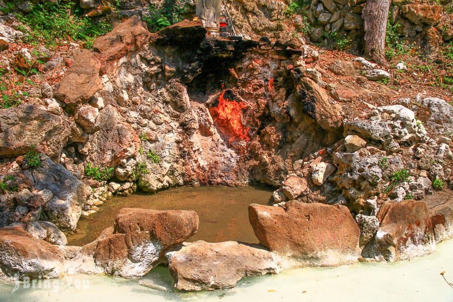 【關子嶺一日遊】台南泥漿溫泉推薦、天梯、水火同源等景點、交通攻略