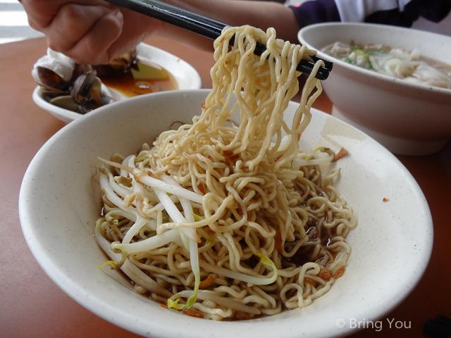 【高雄美食】高鐵左營站附近的黃家汕頭手工麵 → 50年的好滋味