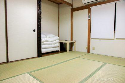 【大阪便宜住宿】多明哥之家:像家的日式榻榻米房民宿(心齋橋附近、天下茶屋站)