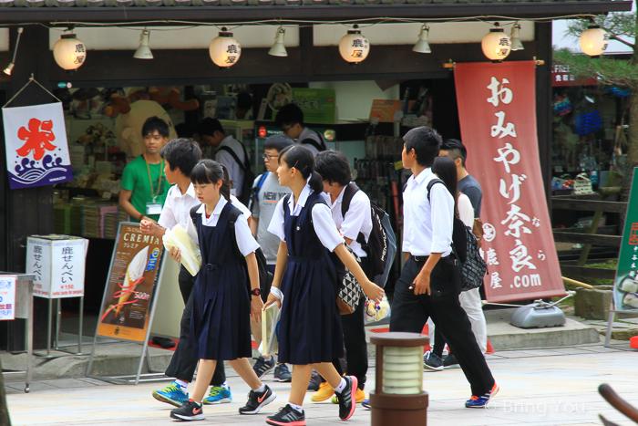 【日本關西見聞錄】吵鬧的日本學生&日本民宅體驗&騎腳踏車的宅配?