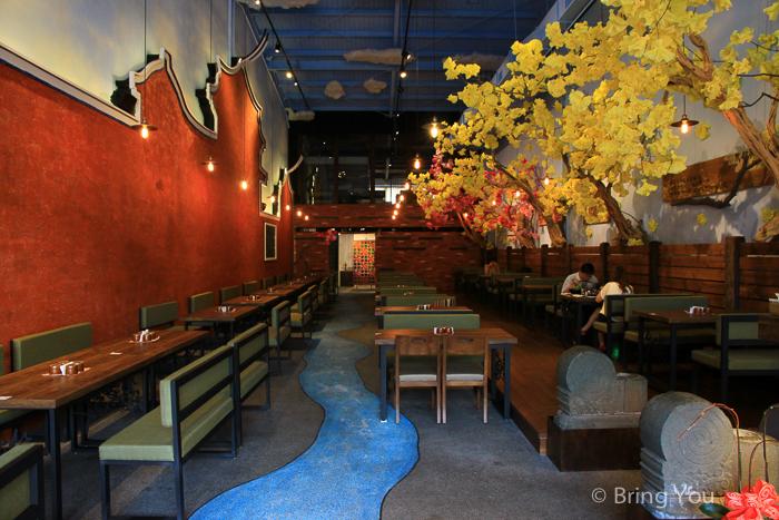 【台南安平餐廳】夢東籬中式簡餐、火鍋,賞花吃美食