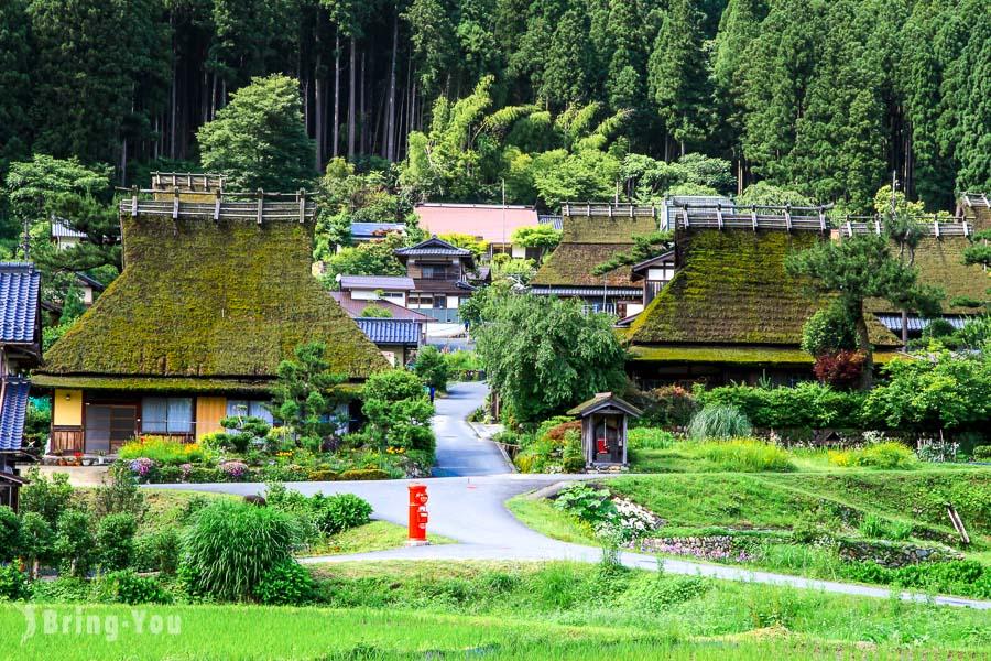 走訪京都版合掌村「美山町茅葺之里」,日本三大茅草屋之一超療癒!