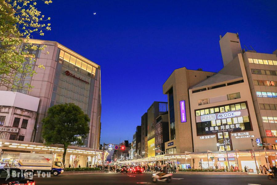 【京都購物景點】四条河原町:京都最熱鬧好逛的地方(含高瀨川賞櫻)