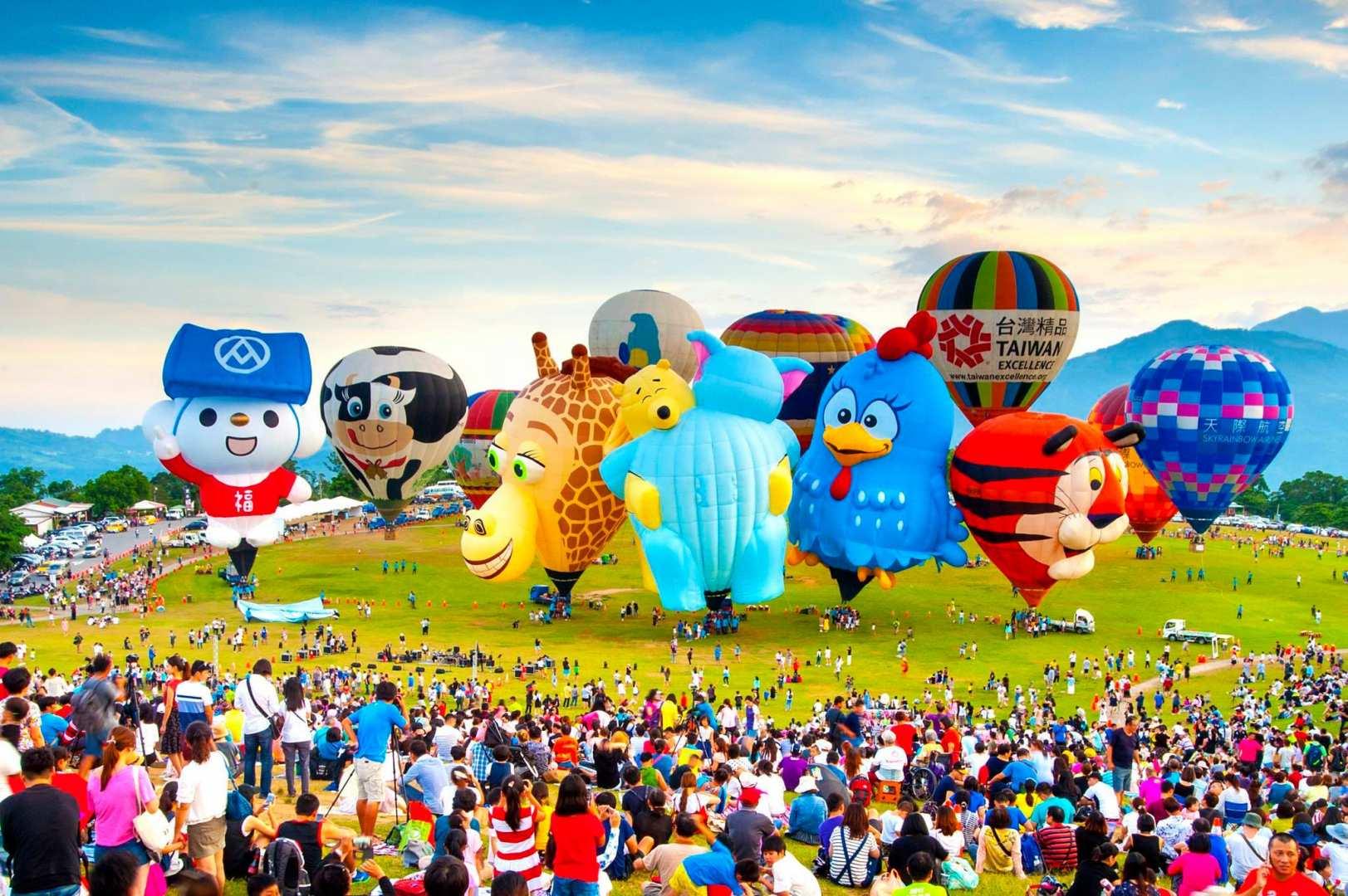 【台東鹿野高台】國際熱氣球嘉年華行程攻略