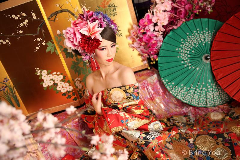 【京都花魁體驗】變身絕美花魁,集奢華尊貴於一身(祇園、高台寺附近)