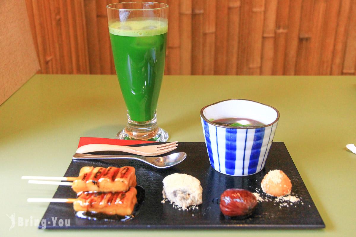 京都清水寺周遭必吃五家甜點店:抹茶蛋糕、和菓子、蕨餅、糰子好好吃